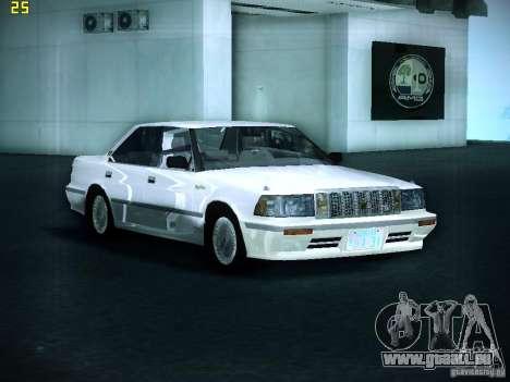 Toyota Crown für GTA San Andreas zurück linke Ansicht