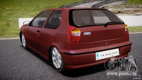 Fiat Palio 1.6 pour GTA 4 Vue arrière de la gauche