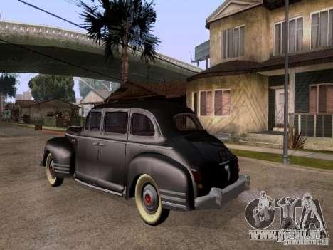 ZiS 110 pour GTA San Andreas laissé vue