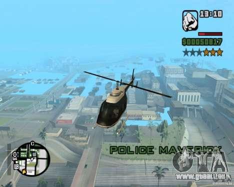 Zaprygivayem hélicoptère pour GTA San Andreas cinquième écran