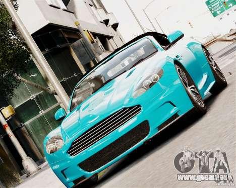 Aston Martin DBS Volante 2010 v1.5 Diamond pour GTA 4