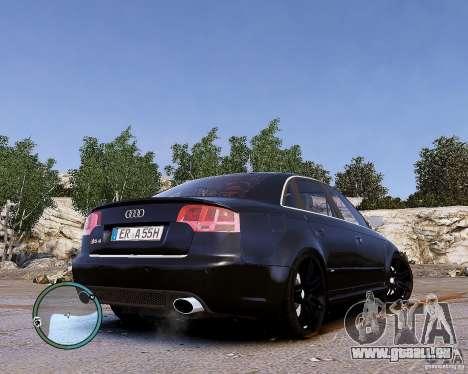 Audi RS4 für GTA 4 rechte Ansicht