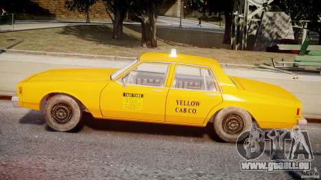 Chevrolet Impala Taxi v2.0 für GTA 4 hinten links Ansicht