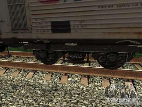 Refrežiratornyj wagon Dessau no 2 pour GTA San Andreas vue arrière