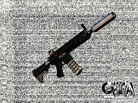 Weapon pack v2 pour GTA San Andreas deuxième écran