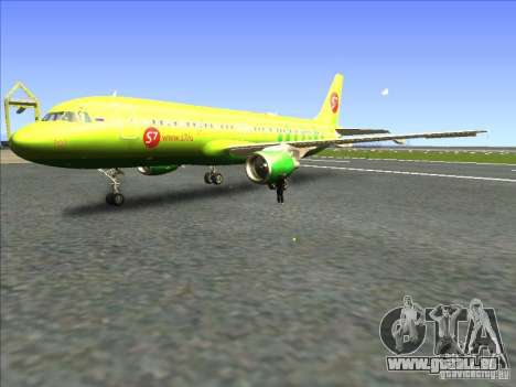 Airbus A-320 S7Airlines pour GTA San Andreas