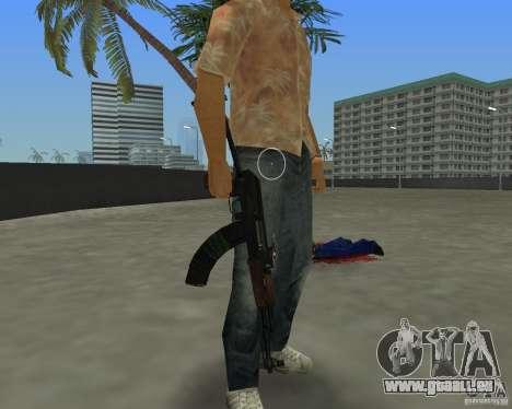 AKS-74 GTA Vice City pour la troisième écran