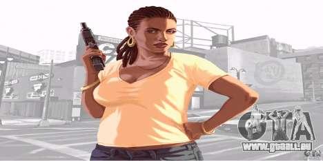 Écrans de démarrage de GTA IV v. 2.0 pour GTA San Andreas deuxième écran