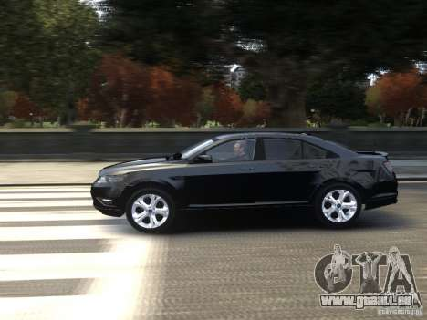 Ford Taurus FBI 2012 pour GTA 4 est une gauche