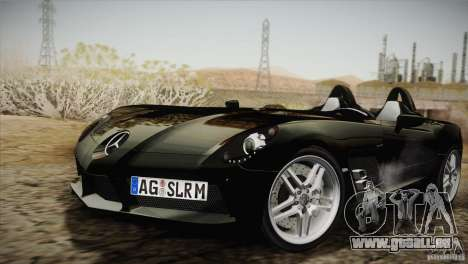 Mercedes-Benz SLR Stirling Moss 2005 pour GTA San Andreas vue de côté