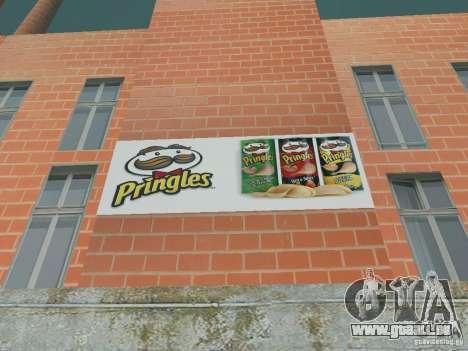 Pringles Factory pour GTA San Andreas quatrième écran