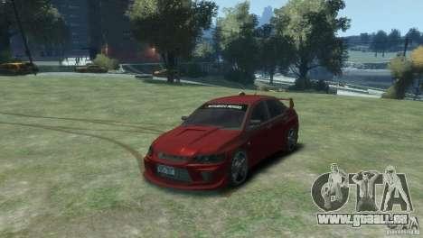 Mitsubishi Lancer Evolution VIII für GTA 4 hinten links Ansicht