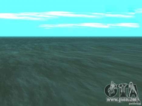 Nouvelles sources d'eau pour GTA San Andreas troisième écran