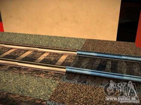 Neue Schienen für GTA San Andreas dritten Screenshot
