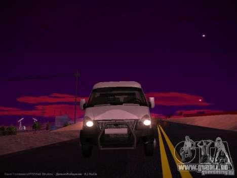 Gazelle 32213 Business v1. 0 für GTA San Andreas Seitenansicht