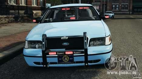 Ford Crown Victoria Police Unit [ELS] pour GTA 4 Salon