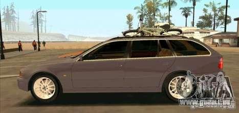 BMW 525 Touring V2 pour GTA San Andreas laissé vue
