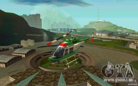 Bell 206 B Police texture3 für GTA San Andreas