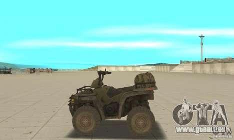 Neue Atv für GTA San Andreas linke Ansicht