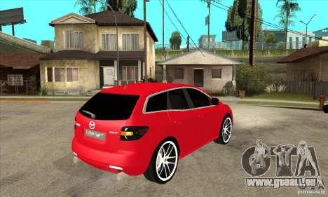 Mazda CX-7 pour GTA San Andreas vue arrière