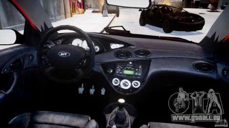 Ford Focus SVT WRC Street pour GTA 4 vue de dessus