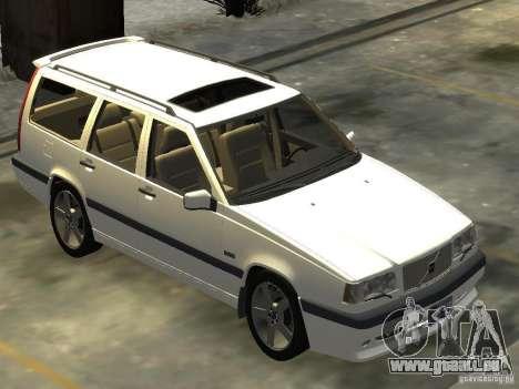 Volvo 850 R 1996 Rims 2 pour GTA 4 est un droit