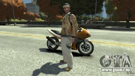 White clothes pack pour GTA 4