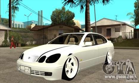 Lexus GS300 V 2003 pour GTA San Andreas laissé vue