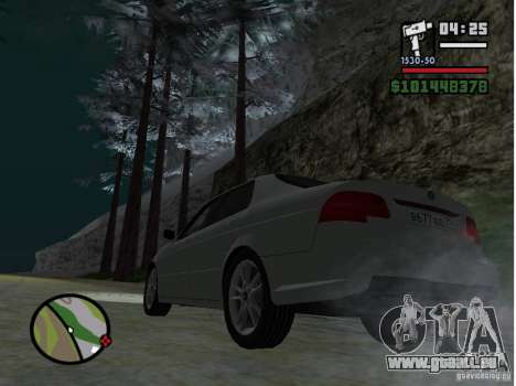 Winter Mod für GTA San Andreas zweiten Screenshot