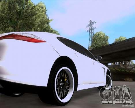 Porsche Panamera 970 Hamann pour GTA San Andreas vue arrière