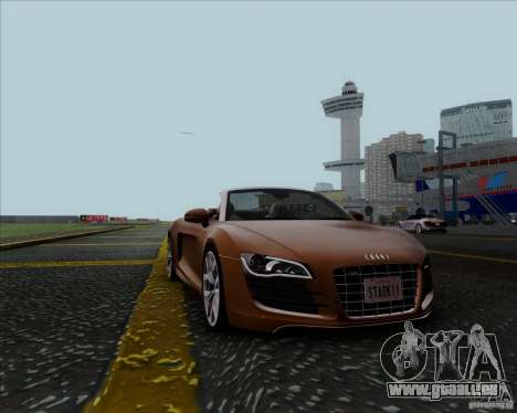 Audi R8 Spyder für GTA San Andreas