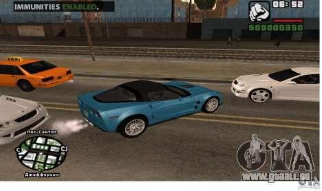 Santé infinie de voiture pour GTA San Andreas