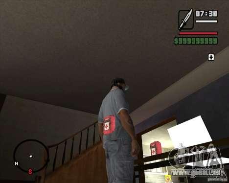 From Left 4 Dead beta v0.2 für GTA San Andreas her Screenshot