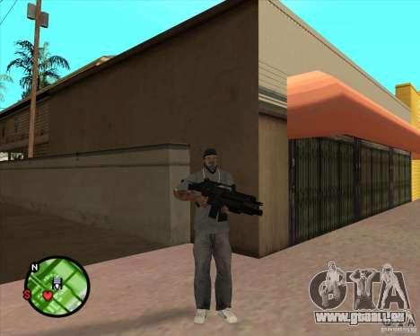 La carabine Ross pour GTA San Andreas deuxième écran