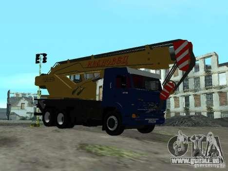 KAMAZ 65117 Ivanovets pour GTA San Andreas vue de droite