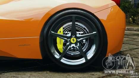 Ferrari 458 Italia 2010 v3.0 pour GTA 4 est une vue de l'intérieur