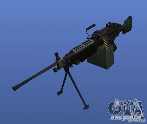 Mitrailleuse M249SAW pour GTA 4