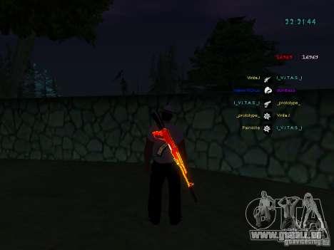 Nouveaux skins La Coza Nostry pour GTA: SA pour GTA San Andreas quatrième écran