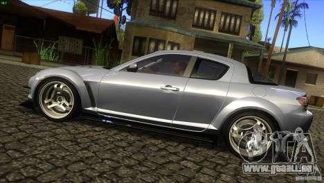 Mazda RX-8 für GTA San Andreas linke Ansicht