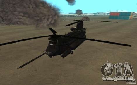 MH-47G Chinook pour GTA San Andreas