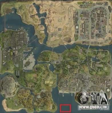 Tokyo Drift map pour GTA San Andreas sixième écran