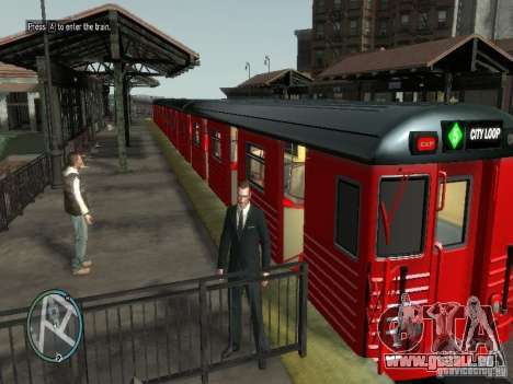 Redbird Zug v1. 0 für GTA 4