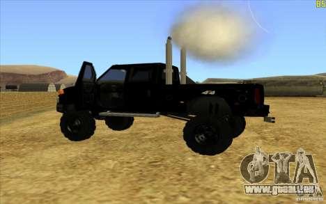 GMC Topkick Ironhide TF3 pour GTA San Andreas laissé vue