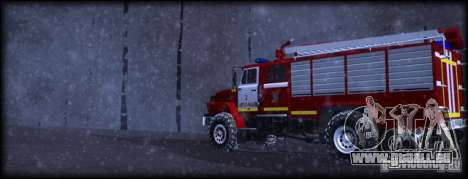 Ural 43206 AC 3.0-40 pour GTA San Andreas laissé vue