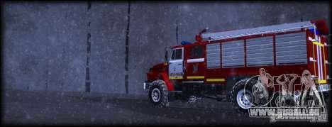 Ural 43206 AC 3.0-40 für GTA San Andreas linke Ansicht