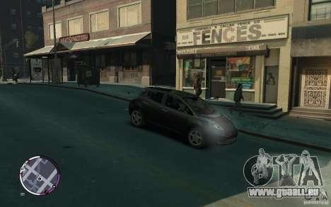 Nissan Leaf 2011 pour GTA 4 est un droit