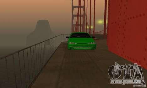 VAZ 2113 ADT Art Tuning pour GTA San Andreas vue intérieure