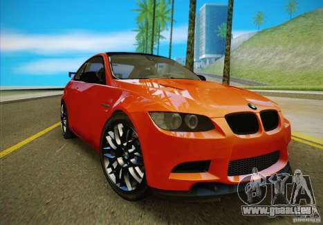 BMW M3 GT-S Final für GTA San Andreas rechten Ansicht