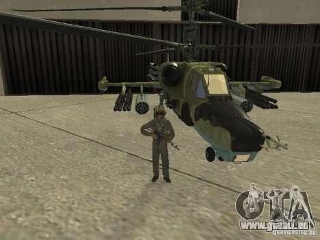 Ka-50 Black Shark für GTA San Andreas