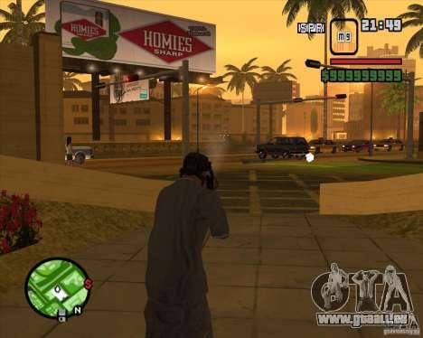 Schnickschnack für Waffen für GTA San Andreas neunten Screenshot